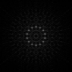 michaelerule: Quasicrystal Diffraction Patterns