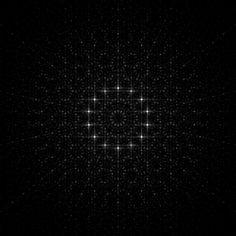 michaelerule: Quasicrystal Diffraction Patterns #diffraction #quasicrystal #patterns