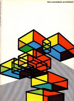 All sizes | The Canadian architect - October 1966 | Flickr - Photo Sharing! #architect #design #book #cover #mid #century #layout