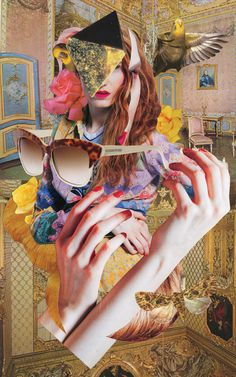 Ashkan Honarvar   PICDIT #fashion #collage #art #portrait