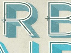 Typography / RB #rb #typography