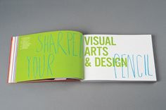 NTU Art & Design Book 10/11 : Andrew Townsend #typography