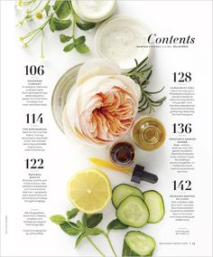 MARTHA MOMENTS: Martha Stewart Living: 2011 In Review #layout #table of contents #toc