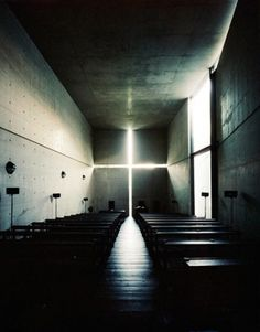 Church of light by Tadao Ando #architecture #light #concrete #tadao ando #church of light
