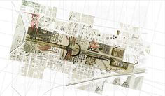 Adriana Useche. [Topic] Studio. MA Architecture // The Awakening of our Facilities - 2_urban plan #urban