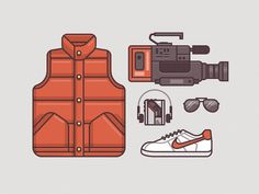 McFly Gear 1985 #the #illustration #back #future #to