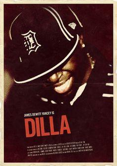 Typcut: Dilla : H/34 : Creative Work, By Alex Koplin #h34 #j #poster #dilla