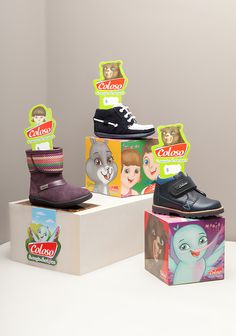 Characters Design and Development for Kids Mexican Footwear Brand COLOSO- The Branding People