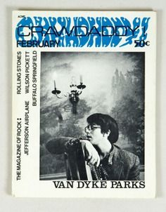 Crawdaddy The Magazine of Rock back issue 1967 February Van Dyke Parks