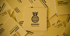 Ananxc3xa1s Travel #branding #yellow #graphic #travel #desing #brand #logo