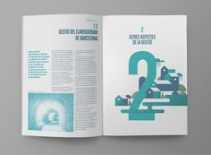 Clabsa's 2011 Annual Report on Behance #layout #annual #report