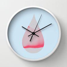 drop, wall clock