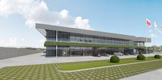 Skuba. Logistics center - dizonaurai #viz #3d