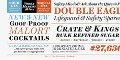 Harriet™ Desktop font « MyFonts #typeface #typography