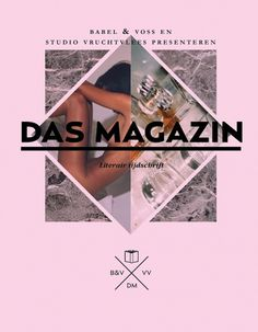 Das+Magazin.jpg (1000×1284) #cover #print #dutch #magazine
