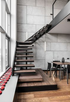 Instantly Captivating Wood and Graphite Apartment in Poznan by Metaforma 2