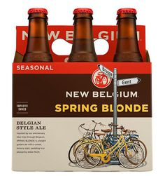 New Belgium Spring Blonde #packaging #beer