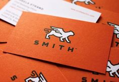 Smith businesscard #design #graphic #cards #business