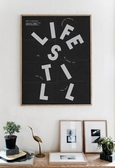 Life Still — Les Graphiquants #print #poster