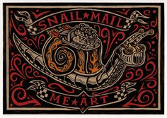 Mail Me Art Snail Mail Me Art on Behance #nail #mail