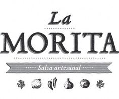 La Morita - mexican sauce #logo #zinegraph