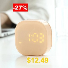 Creative #Compact #Digital #Alarm #Clock #Kitchen #Timer #Support #Magnetic #Catche #or #Placement #- #PINK
