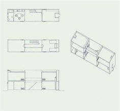 Posted Image #ando #elevation #isometric #tadao