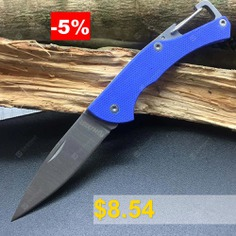Harnds #CK1101 #Small #Lark #Folding #Knife #with #8Cr14MoV #Blade #G10 #Handle