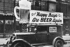 10 lucruri pe care trebuie sa le stii despre bere | La zi pe Metropotam #sign #beer #vintage #prohibition