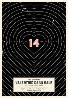 FFFFOUND! | wieden-kennedy-valentine-cards.jpg 600×865 pixels #cards #valentine #poster