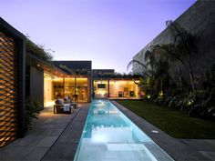 Barrancas House barrancas house mexico pool area #outdoor #pool #architecture #house