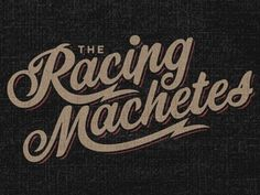 Dribbble - Machete Script by Brandon Rike