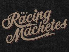 Dribbble - Machete Script by Brandon Rike #type #script #retro #logo