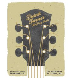 A Showcase of Creative Gig Posters 15 #gig #poster