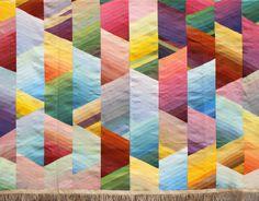Diane Itter, Tapis III, 1978. #itter #diane #textile #art #tapisiii #1978