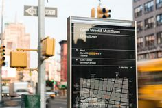 walkNYC pedestrian maps by the pentacitygroup #map #wayfinding #walknyc #pedestrians #york #new