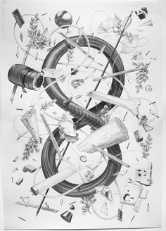 All sizes | Disorder Never Decreases | Flickr - Photo Sharing! #illustration #pencil