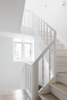 Stairway. Copenhagen Townhouse I by Norm.Architects. #stairway #normarchitects #minimal
