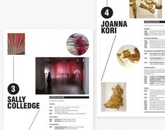 * Teacake Design   With or without sultanas * #layout #sussex #brochure #typography