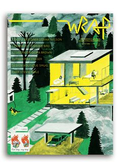 Image of WRAP ISSUE 3 'DARK DAYS, BRIGHT NIGHTS' #print #wrapping #paper #magazine