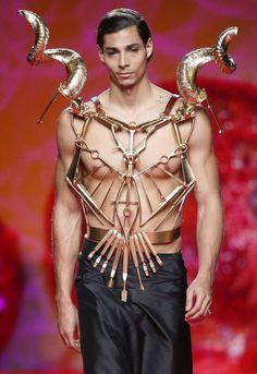 "monsieurcouture: "" Francis Montesinos F/W 2015 Menswear Madrid Fashion Week """