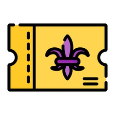 See more icon inspiration related to ticket, pass, entertainment, show and tickets on Flaticon.