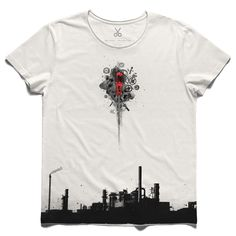 #sanayi #offwhite #tee #tshirt #einstein #industry #screwdriver #factory #industrial revolution #machine #parts