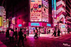 Tokyo in Pink by Xavier Portela