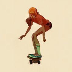 Honk Fu #skatergirl