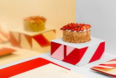 El Postre by Anagrama #packaging #red