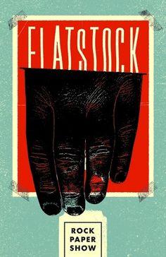 Flatstock2.jpg (JPEG Image, 600x927 pixels) #illustration #poster