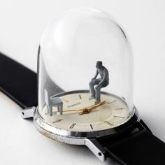 Watch sculptures Moments in Time by Dominic Wilcox_10 451x451 #watch