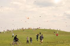 Paul Octavious - Same Hill, Different Day #photography #kites