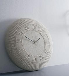 Diamantini & Domeniconi knit clock||was in anthropologie last fall for sale #clock #knit